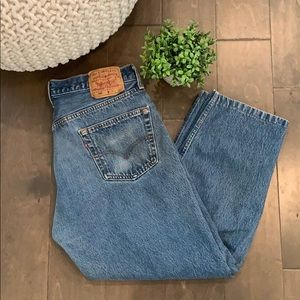 Vintage Levi 501 XX high waisted jeans